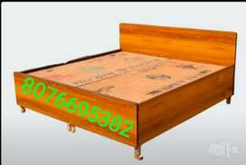 Free delivery/New double box bed king size
