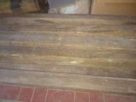 Balok Kayu Jati Jateng (11 balok) bekas sisa (lokasi cimahi utara)