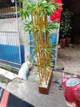 Jual Ranting Pohon Bambu Model Bahan Plastik Untuk Dekorasi Indoor