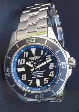 Breitling SuperOcean 42 Blue Automatic no tag ORIGINAL