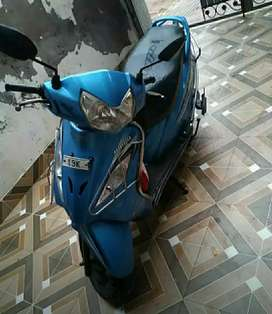 My scooty blue color