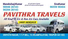 Pavithra Tours & Travelss