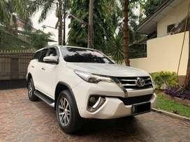 Toyota Fortuner Diesel VRZ Matic Putih Th 2016