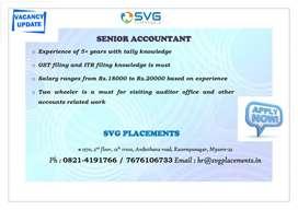 Senior Accountant