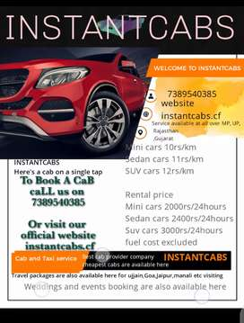 Cars and drivers for rent are available here