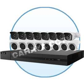 Paket CCTV AHD 6 CAMERA 4MP Full HD 1080P Komplit tinggal pasang
