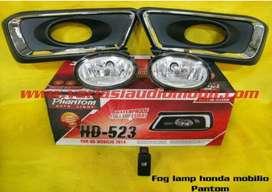 Foglamp buat Honda Mobilio fullset