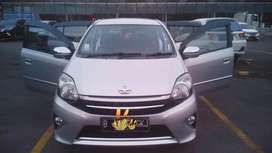 Toyota Agya 1.0 G AT 2015 (Silver)