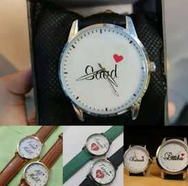 Customized watches for both men and women