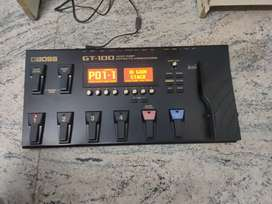 BOSS GT-100 Multi effects Processor Mint Condition