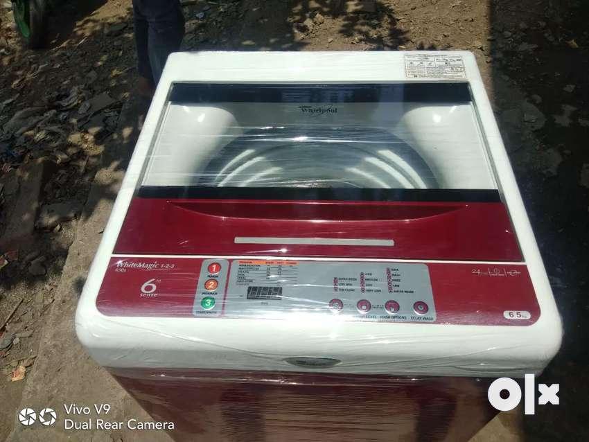 Whirlpool 6.5 kg no ruf use new condition ma hai 0