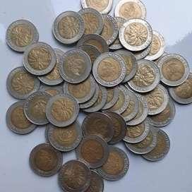Uang koin seribu kelapa sawit