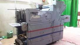 Offset printing machine, cutting machine and heater