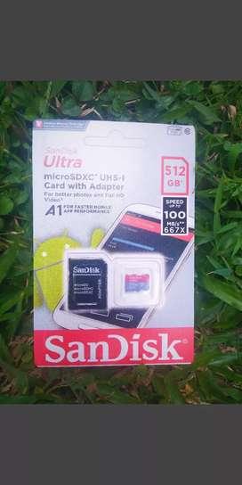 Memory Card Sandisk 512 GB