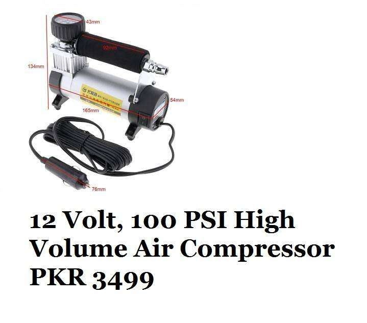 12 Volt, 100 PSI High Volume Air Compressor 0