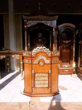 mimbar masjid kubah mewah khutbah 000