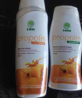 SHAMPOE DAN BODY WASH PROPOLIS HPAI
