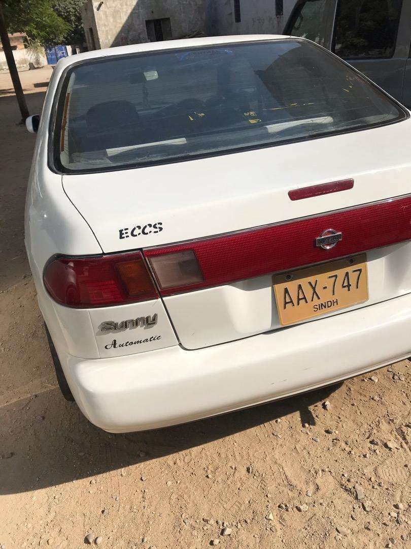 Nissan sunny automatic new engine 0