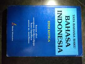 Jual buku bekas tata bahasa baku bahasa indonesia (NEGO)