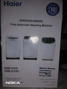 Brands new haier automatic machine