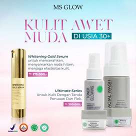 Paket skincare ms glow + serum