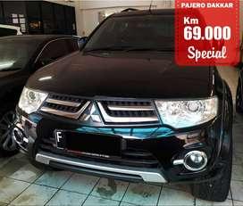 PAJERO DAKKAR AUTOMATIC BLACK 2014SPECIAL CONDITION, Km 69 Rb.