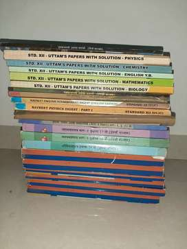 Hsc 12 th class text books with digest and previous years paper