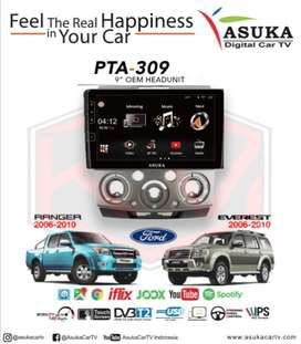 Headunit Android OEM RANGER & EVEREST 9inch Asuka PTA-309