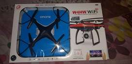 Compact Quiet lightweight Wi fi Drone HD Camera With LED Light