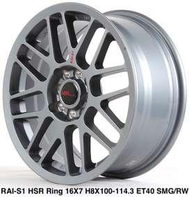 RAI-S1 HSR R16X7 H8X100-114,3 ET40 SMG