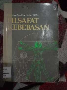 Dijual buku terbitan 1988 berjudul Filsafat Kebebasan