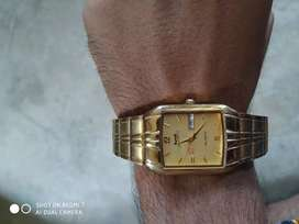Hmt mens watch with date and day.