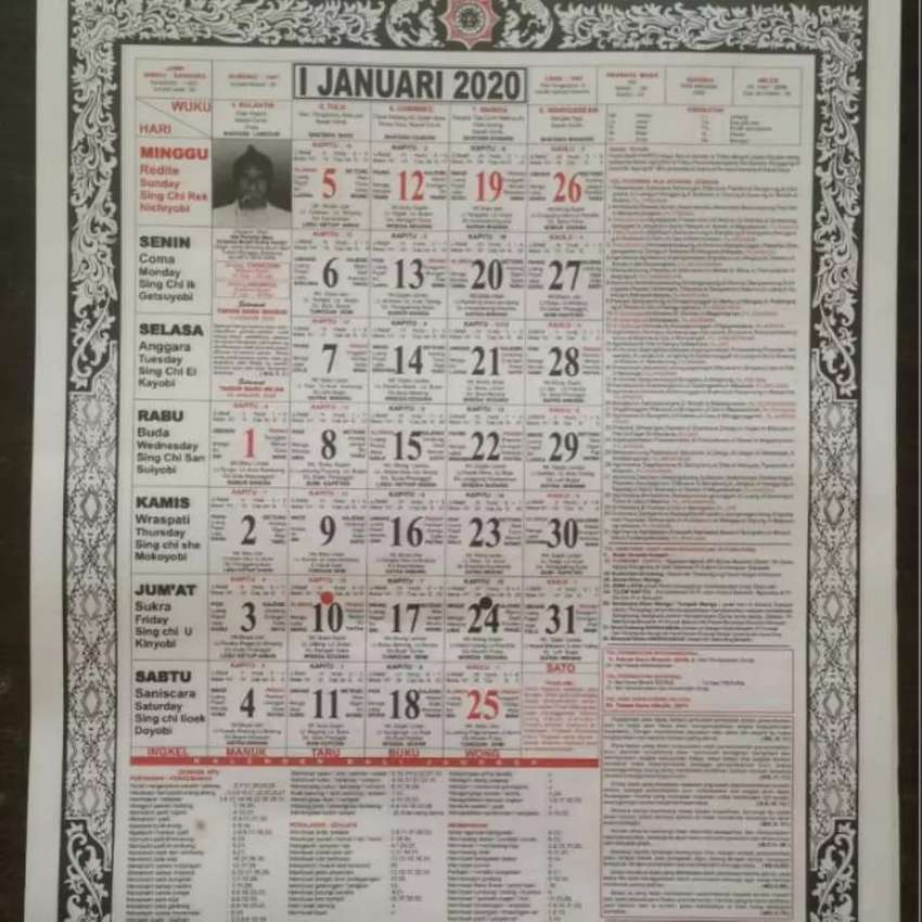 Kalender Bali 2020 0