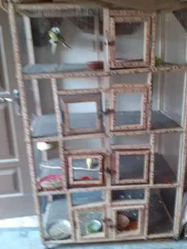 Strong and stylish cage for sale