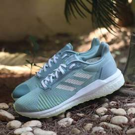 ADIDAS SOLAR DRIVE BOOST ST BABY BLUE WHITE GREEN ORIGINAL