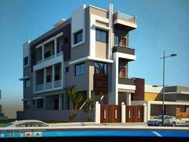 Ready 2bhk flat at kharkar layout