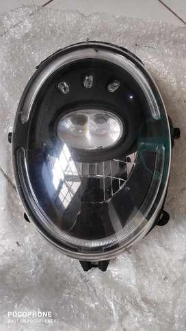 Headlamp / batok lampu scoopy ring 12