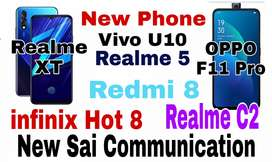 Realme 5, Redmi 8, redmi note 8 ,  , oppo , vivo, samsung all model
