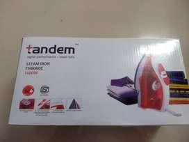 (New)Tandem Steam Iron 1400W