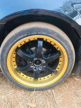 17inch aloy wheel