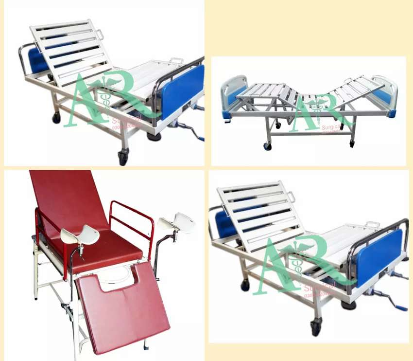 Brand new Hospital Beds & manual Wheel Chair & oxygen concentrator 0