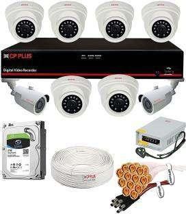 8 HD CCTV Camera full setup installation