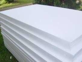 styrofoam lembaran busa lembaran dan botol almond