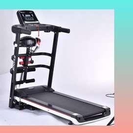 treadmill elektrik EXONE-1002 alat fitnes electric