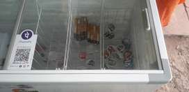Good condition deep fridge only two years old