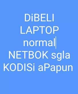Di beli laptop mati segala kondisi apapun