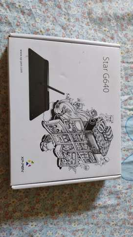Drawing tablet hardly used.. Almost new.. 5 months old