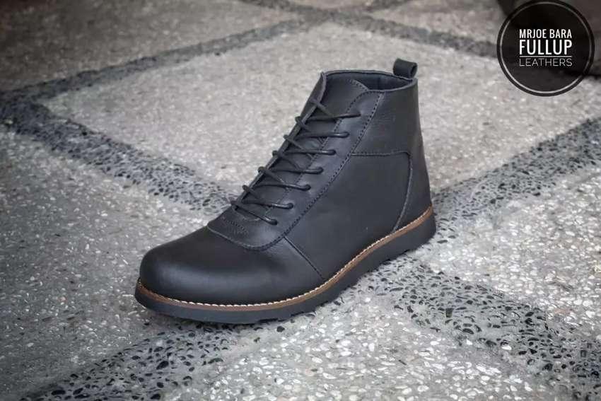 BISA COD BAYAR DI TEMPAT! GRATIS ONGKIR ! Sepatu kulit asli Mr. Joe 0