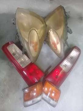 Headlamp avanza dan headlamp toyota lgx