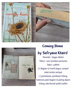 "PRELOVED NOVEL ""COMING HOME"" BY SEFRYANA KHAIRIL"